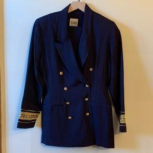 Vintage R&M Richards Navy Nautical Pantsuit